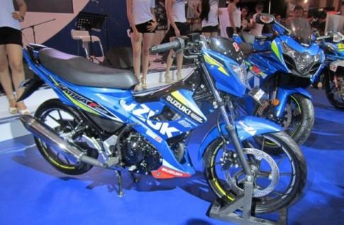 Giải đua Satria F150 phiên bản MotoGP tại Indonesia