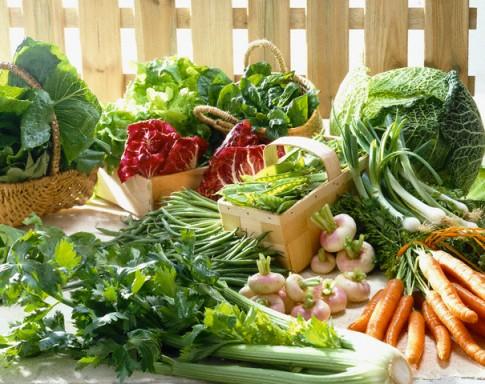 Hạ huyết áp bằng rau quả