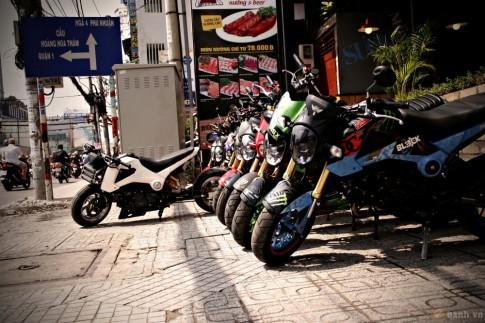 Hàng loạt xế độ tụ hội tại Sài Gòn nhân dịp cuối năm