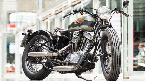 Harley-Davidson Ironhead độ Tracker của Việt kiều tại Đức