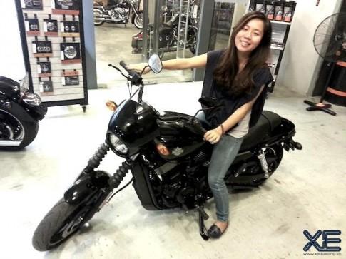 Harley Davidson Street 750 giá rẻ đầu tiên về Việt Nam