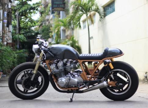 Honda CB750 phong cách Cafe Racer