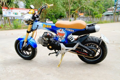 Honda Dax do thanh Honda MSX doc dao