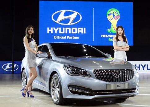 Hyundai sắp ra mắt xe sang mang tên AG