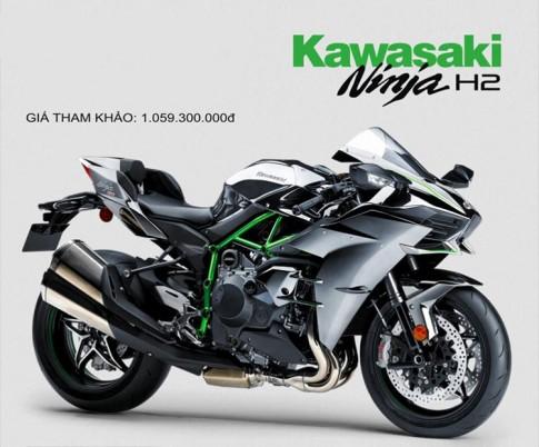 Kawasaki H2 có giá chính hãng 1,059 tỉ đồng tại Việt Nam
