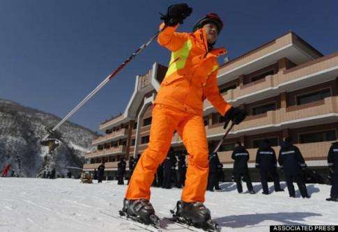 Khu nghỉ dưỡng trượt tuyết Masikryong ở Triều Tiên