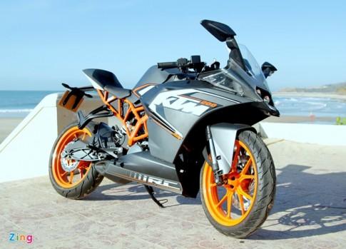 Lái thử KTM RC 200 Chiếc xe sportbike giá rẻ
