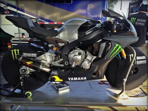 Lộ bản Yamaha R1 2015 Đường Đua