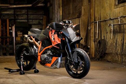 Mảnh thú KTM Super Duke R độ siêu khủng