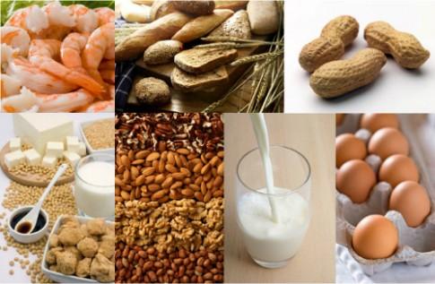 Những thực phẩm dễ gây dị ứng