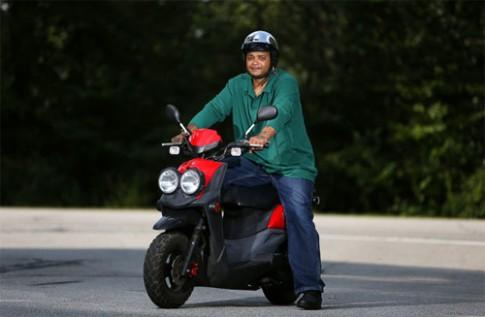 Scooter 50cc bị tịch thu vì chạy quá tốc độ tại Mỹ