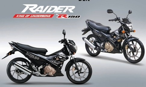 Suzuki Raider R150 2015 ra mắt tại Việt Nam