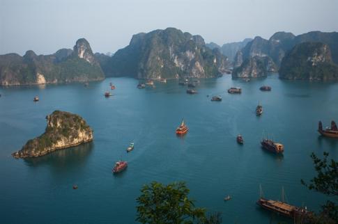 Vịnh Hạ Long lọt Top không gian xanh tốt nhất ở châu Á