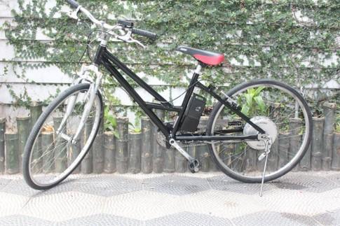 Xe đạp trợ lực Nhật mang dáng thể thao cổ điển bán tại Thủ Đức