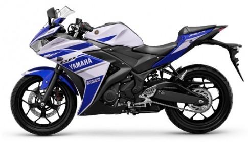 Yamaha R25 bán chính hãng tại Việt Nam với giá 160 triệu đồng