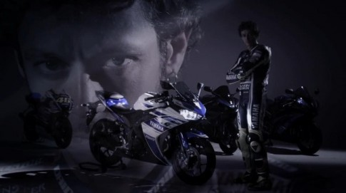 Yamaha R25 sánh bước cùng Valentino Rossi