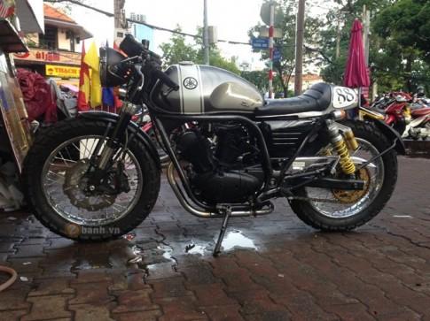 Yamaha Virago 125 độ phong cách Cafe Racer tại Sài Gòn