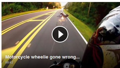 [Clip] Pha bốc đầu lỗi gây tại nạn suýt chết