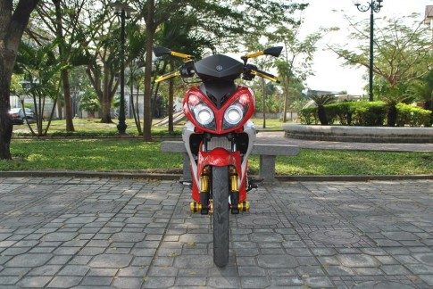 Exciter style X1R Nha Trang khoe sắc