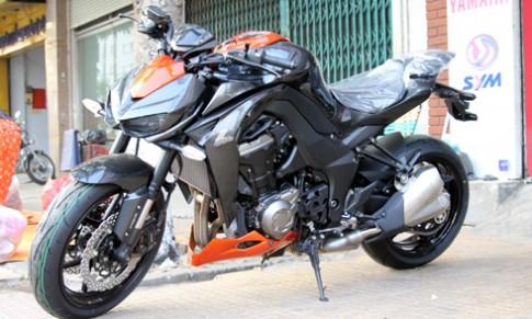 Kawasaki Z1000 2015 đầu tiên về Sài Gòn