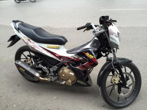 Satria F độ nhẹ của một biker Hà Nội