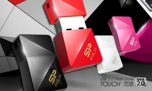 Bộ đôi USB Jewel J08 và Touch T08 chính thức được Silicon Power giới thiệu