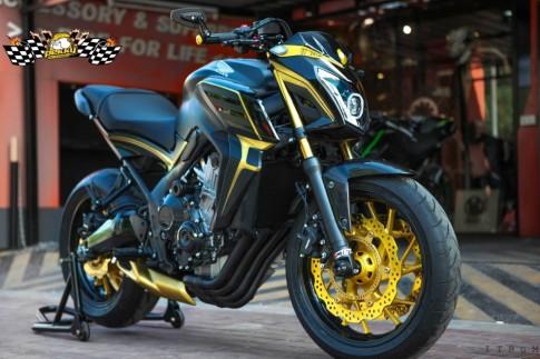 Honda CB650F sơn phối màu cực lung linh