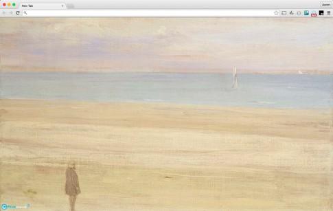 Thưởng thức nghệ thuật trong từng tab mới của Chrome