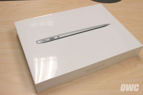 Unbox, test SSD moi tren Macbook Air 2015