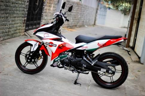 Exciter 150 Độ phong cách Ducati cá tính