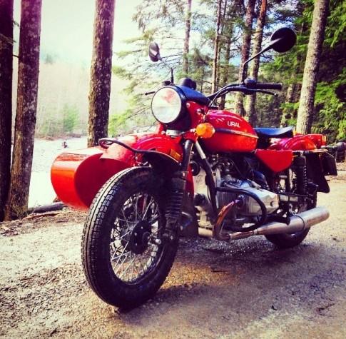 Xe môtô Sidecar Liên Xô 'hồi sinh' trên đất Mỹ