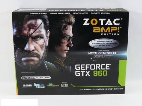 Zotac GTX 960 AMP!: Sức mạnh của sự hài hòa