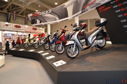 Cận cảnh Honda Sh300i 2015 tại Châu Âu