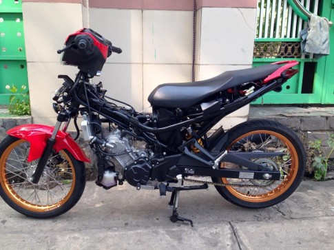Exciter 150 Do len banh cam nhe nhang