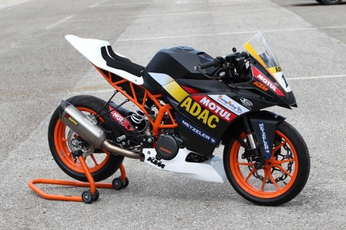 KTM RC390 phien ban Race day an tuong