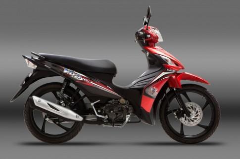 Suzuki Viva Fi 2015 thêm màu mới ra mắt tại Việt Nam