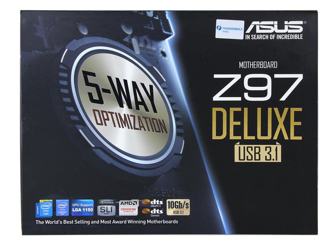 Unbox bo mạch chủ Z97-Deluxe hỗ trợ USB 3.1 đầu tiên