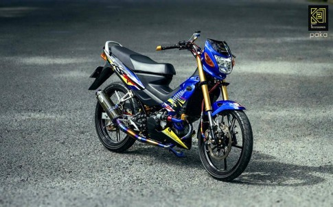 Honda Sonic do full option do choi khung cua biker Viet