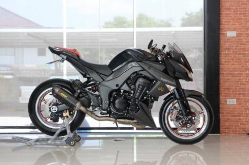 Kawasaki Z1000 2013 độ siêu khủng trên đất Thái