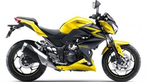 Kawasaki Z250 ra mắt phiên bản nâng cấp