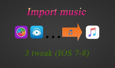 3 cách Import nhạc từ Zing mp3, nhaccuatui vào iPhone