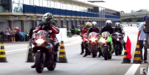 [Clip] Gia nhập đường đua cùng những siêu moto pkl