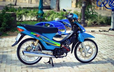 Honda Wave 110 do kieng don gian nhung cuc dep
