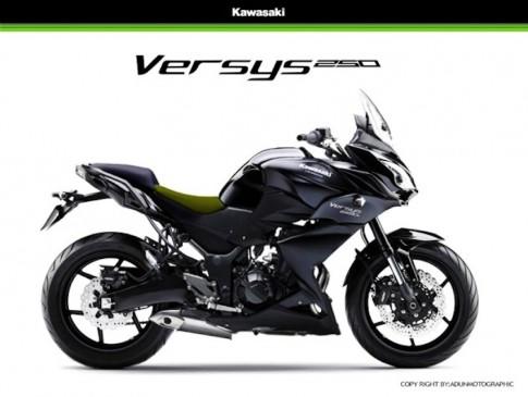 Kawasaki đang phát triển dòng xe Sport-tour 250 phân khối mới
