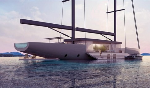 Ra mắt concept siêu du thuyền SALT cực đỉnh của Lujac Desautel