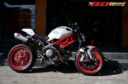 Ducati Monster 796 S2R độ khoe dáng tại Thái Lan