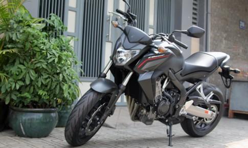 Honda CB650F độ đơn giản mà nổi bật với đồ chơi hàng hiệu