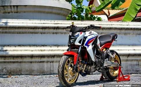 Honda CB650F độ siêu chất với dàn đồ chơi hàng hiệu