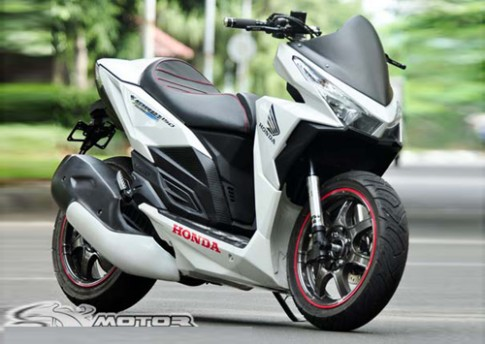 Honda Vario 150 do phong cach PKL