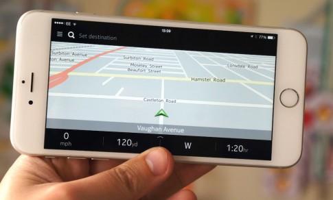 Ung dung Here Maps cua Nokia ra mat cho iOS